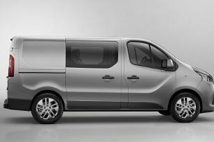 Renault nuovo trafic doppia cabina
