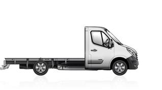 Renault master telaio cabina semplice