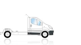 Renault nuovotrafic pianale cabinato